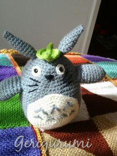 Amigurumi de Totoro