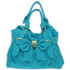 Elegant Women's Hobo/Handbag with Bow Tie