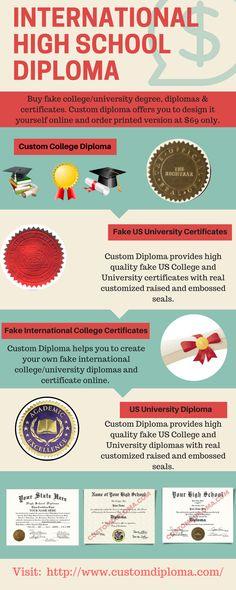 Pin by Custom Diploma on Fake international university certificates - copy university diploma templates