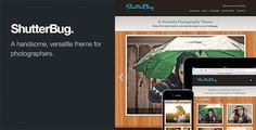 ShutterBug: Responsive Photography WordPress Theme