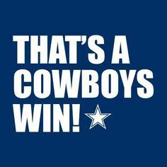 Cowboys for the Win. #CowboysNation Follow on Twitter, Instagram, & Snapchat @cowboysfans_88