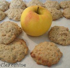 cookies à la compote de pomme et flocons d'avoine …