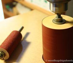 Homemade drill Press spindle sander