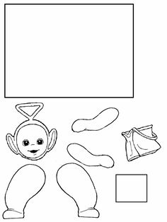 teletubbies tinky winky coloring pages | Free Printable Teletubbies Coloring Pages For Kids ...