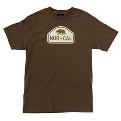Nor Cal Ranger Regular T-Shirt Coffee - Ships Free!
