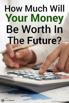 Use this calculator to figure out the future value of your money. A dollar today isn't equal to a dollar tomorrow because of a number of factors like inflation. You can't plan for retirement when you don't know how far your money will go!