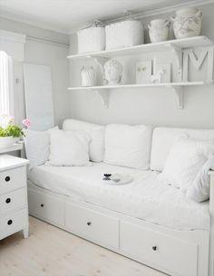 hemnes ikea habitacion blanca