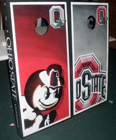 Custom The Ohio State Cornhole Boards  @Betsy Cline