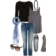 """""""Casual Fall Style Inspired by Emma Watson"""" by amsmothers127 on Polyvore"""
