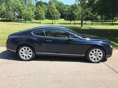 Bentley Continental GT 6.0 W12 2dr Auto Coupe Petrol Sapphire Blue Metallic