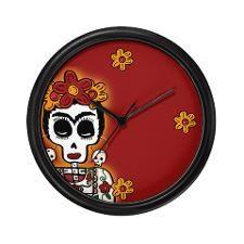 Frida clock. Sweet. :D