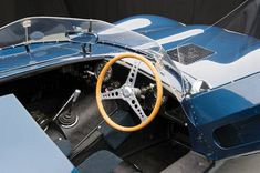 D-Type Jaguar interior