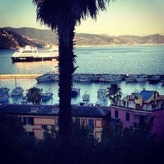 The beautiful town of Portofino, Italy.