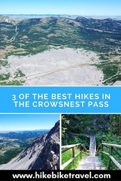 3 of the Best Hikes in the Crowsnest Pass Area - Hike Bike Travel Camping And Hiking, Hiking Trails, Backpacking Trips, Camping Stuff, Camping Tips, Alberta Travel, Canadian Travel, Canadian Rockies, Visit Canada