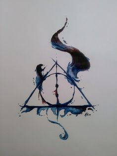 #deathlyhallows #harrypotter #art #windsorandnewton
