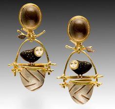 Jewelry art by Carolyn Morris Bach