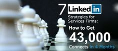 7 LinkedIn Strategies for Services Firms – How to Get 43,000 Connects in 4 Months | Jumpfactor