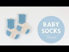 Crochet Supers Easy Baby Socks – Crafting Time