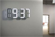 Amazing modern digital clock!