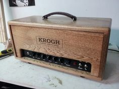 Krogh custom guitar amplifier