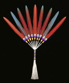 . Feather Fan    Barry Belindo (United States, North America), 1999