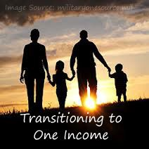 Transitioning To One Income | Where to start preparing to transition to a single income | Living on a Single Income | Budget Loving Military Wife