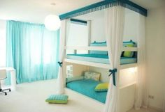 I like the colours and the room of the bed but I need a cupboard down the bottom.