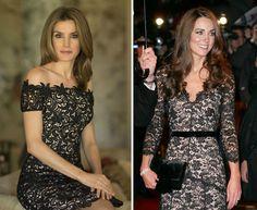 Letizia y Kate Middleton, dos futuras Reinas que comparten el mismo estilo - Yahoo Tendencias España
