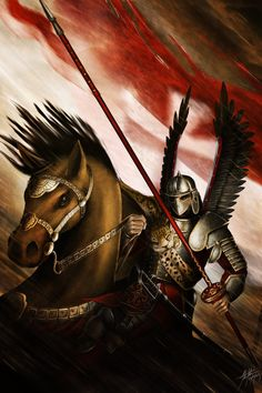 The Winged Hussar by JSfantasy.deviantart.com on @DeviantArt