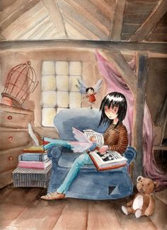 The Reader by ~asiapasek on deviantART