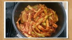 זוקיני ברוטב עגבניות