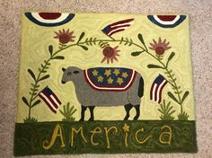 Amerian Sheep/Hooked by Pamela Mayfield
