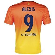 Alexis del Barcelona 2012 13 Away Camiseta fútbol Niño online  408  -  €16.87   Camisetas de futbol baratas online! d548ac116c8
