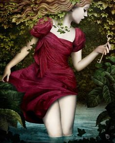 Wonderland | Christian Schloe ~ Chilean Surrealistic Visionary painter
