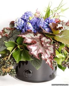 "See the ""Leaf Arrangement"" in our Spring Flower Arrangements gallery"