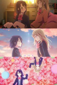 Anime Girlxgirl, Yuri Anime, Kawaii Anime Girl, Anime Girls, A Silent Voice, Bad Mood, Anime Scenery, Manga, Anime Shows