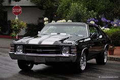 1970 Chevy Chevelle SS - Dad had one of these and he burned it to the ground. Wish it was still around!