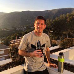 FOTO. Messi enseña uno de sus placeres