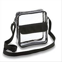 Football Stadium Approved Clear CrossBody Purse Now With Longer Adjustable Strap by Game Day Bags FREE KOOZIE With Purchase Now With Longer Strap *** Check out this great article. #BagsPacksandAccessoriess