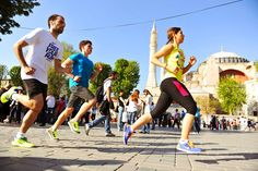 Nike Free Your Run. (Istanbul)  One of the most beautiful places to run in the world, with the best brunch in the world to follow.  Get the bal kaymak and menemen ready!