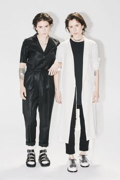 Tegan And Sara Discuss Their Latest Album 'Love You to Death' All Fashion, Fashion Outfits, Tomboy Swag, Famous Twins, Tegan And Sara, Latest Albums, Celebrity Crush, Punk Rock, Cool Bands