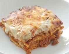 Hjemmelaget lasagne - http://www.matbok.no/hjemmelaget-lasagne/