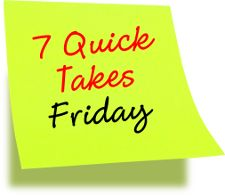 7 Quick Takes Friday (set #207) - https://www.convertjournal.com/2016/12/7-quick-takes-friday-set-207/
