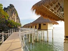 http://www.palawanhotels.org/ - Hotel Exterior of Apulit Island Resort Palawan - We loved our visit to #Palawan in the #Philippines