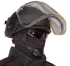 Ballistic Visor / Face Shield Level II