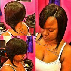 **WHAT ILLIUSON PART** #prontoquickweave #boblife  #Hairkilla  #Layered  #last3to4wks  #protectivestyle  #NoHairOut