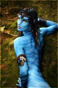 Na'vi girl _ Avatar by ~xGrabx on deviantART Avatar Foto, Gargoyles Characters, Avatar Fan Art, Avatar Poster, Avatar Cosplay, Character Art, Character Design, Female Avatar, Avatar Movie