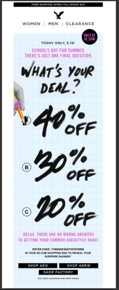animated gif sale mailer
