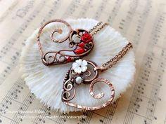 "Pendants handmade. Fair Masters - handmade. Buy ""Heart"" pendant. Handmade. Patinated copper, copper pendant"