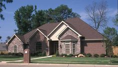 Luxury House Plan Front Photo 01 - 055S-0011   House Plans and More